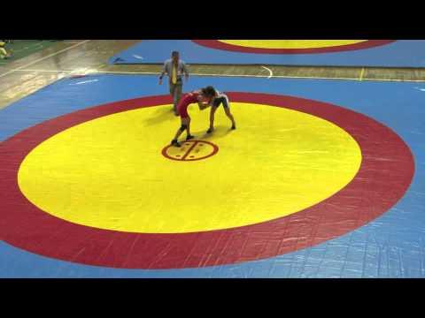 2012 Cadet Pan-American Championships: 46 kg Amy Hou (USA) vs. Tia MacDonald (CAN)