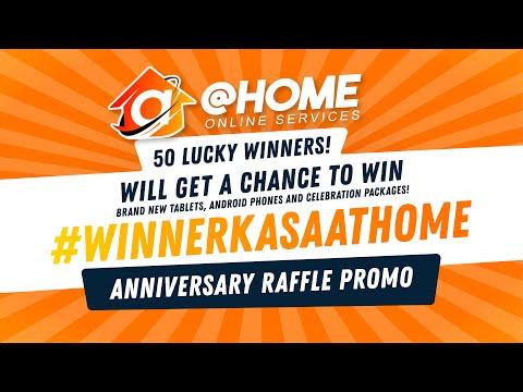 #WinnerKaSaAthome Anniversary Raffle Promo