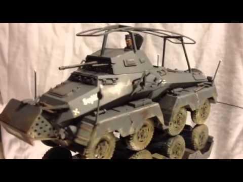 GERMAN SDKFZ 232 HEAVY ARMORED CAR
