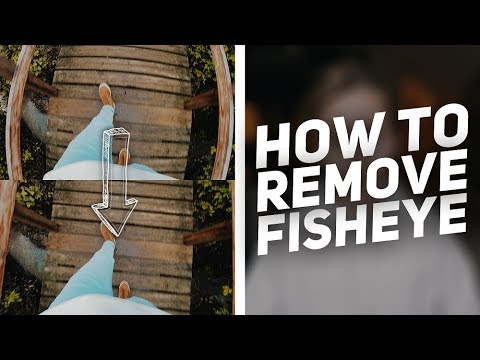 Remove FISHEYE Distortion In 20 Seconds - Tutorial