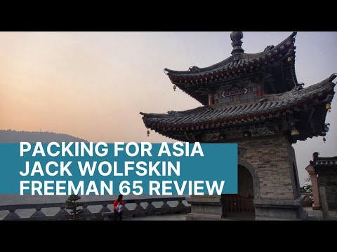 Packing for Asia | How I pack my backpack | Jack Wolfskin Freeman 65 review