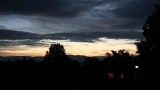 Time laps - vue du camping du Châtelet à Sciez