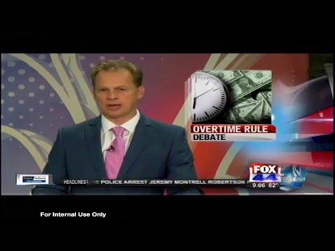 Vitter Discusses DOL's Overtime Rule and Impacts on Small Business (FOX44 Baton Rouge)