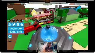 roblox farming simulator and UFO