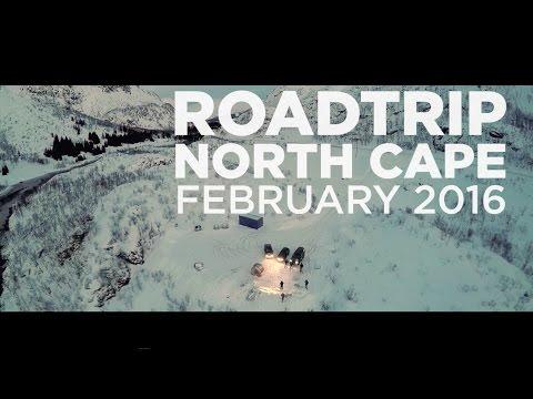 Roadtrip to the North Cape (Norway) -  Noordkaap Challenge 2016 - Road to Nordkapp