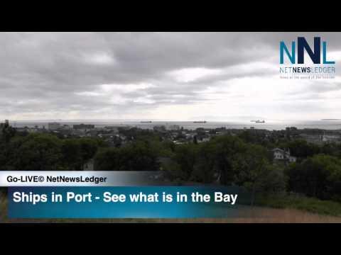 Ships in Port Thunder Bay