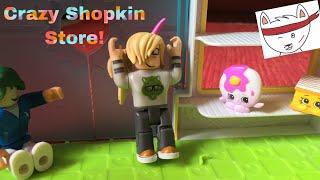 Crazy Shopkin Store! Locked in?!?! Shopkin and ROBLOX