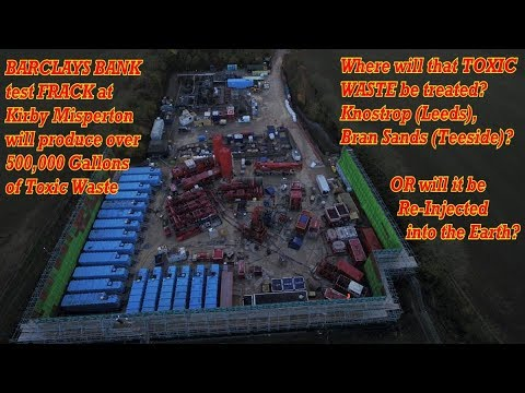 BARCLAYS BANK : On the Cusp of a TOXIC FRACKING NIGHTMARE!