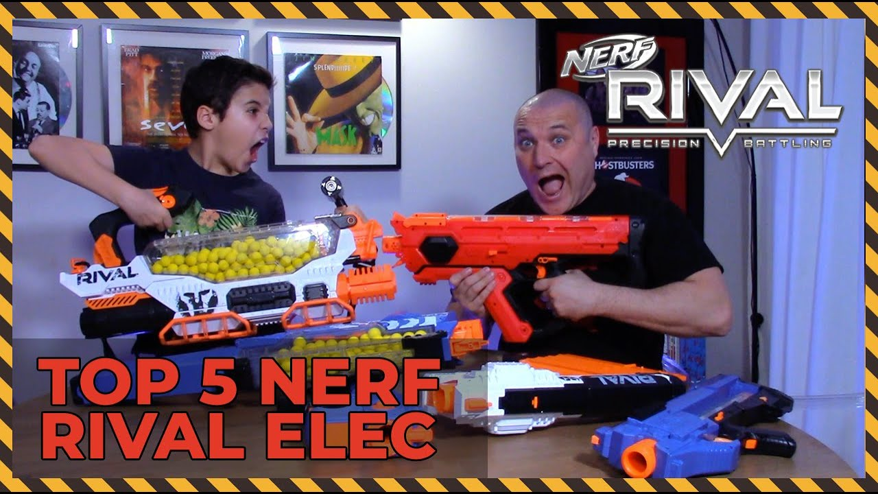 Top 5 Nerf Rival Electrique Youtube