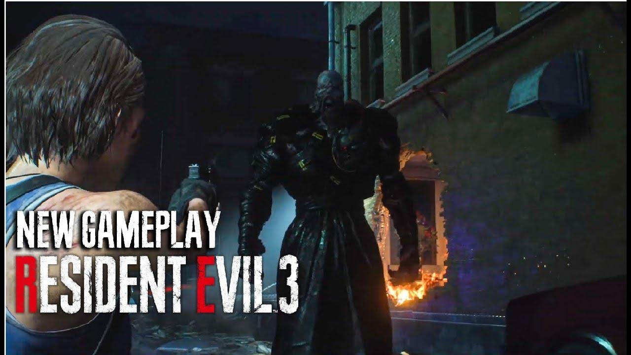 resident evil 3 remake carlos gameplay