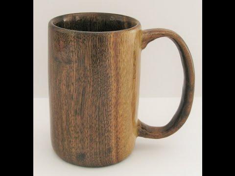 Woodturners Journal: Coffee Mug Turned from Black Walnut