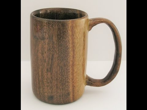 Woodturners Journal: Coffee Mug Turned from Black Walnut