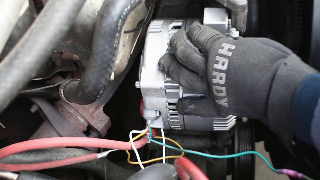 medium resolution of 3g alternator upgrade youtube 3g alternator conversion wiring
