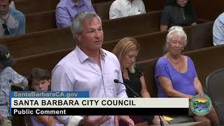 Santa Barbara City Council  Regular Meeting -- Public Comment
