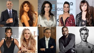 10位 好萊塢明星 單親媽媽 安潔莉娜裘莉/李奧納多 也是在單親家庭長大 中/English