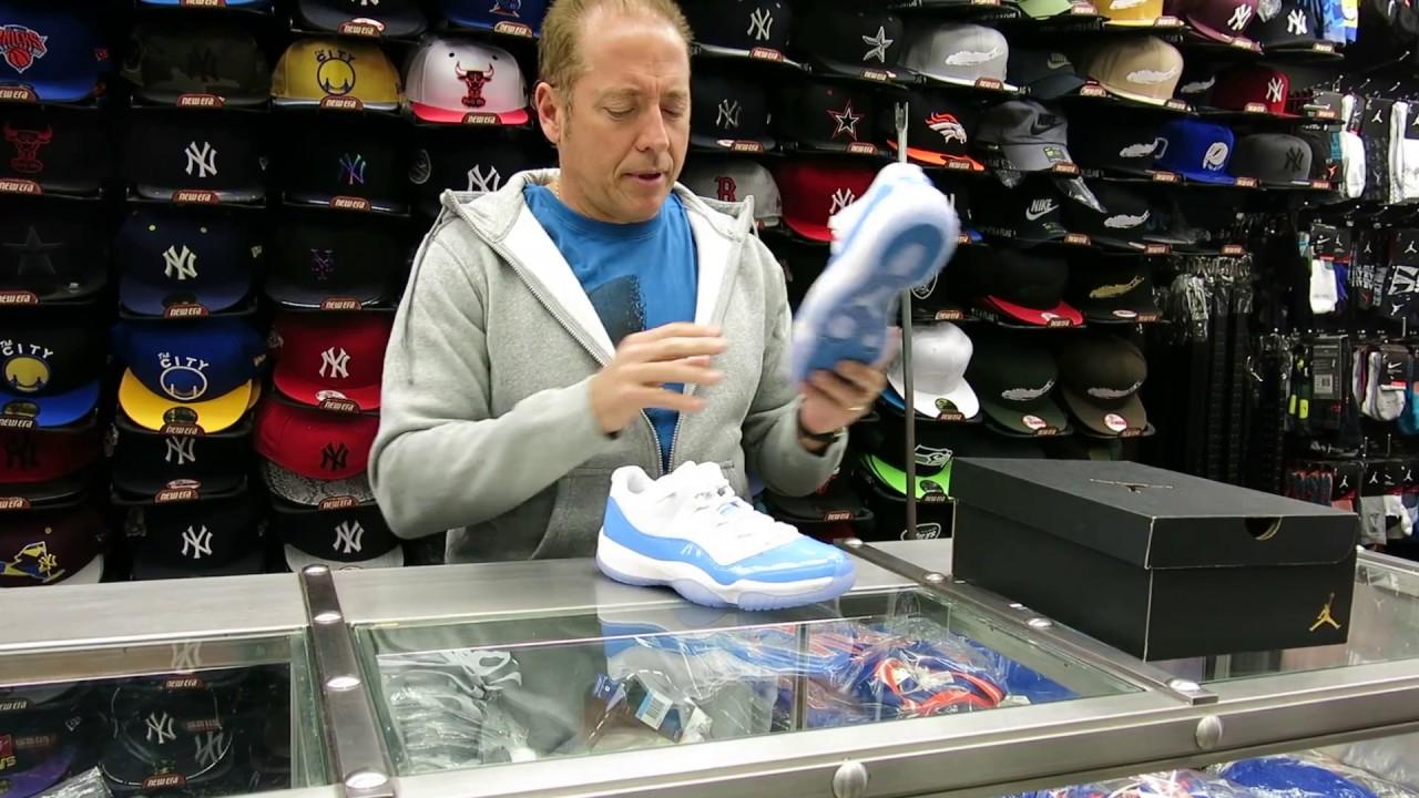 cheap for discount 7789d b2120 ... Nike Air Jordan 11 Low s - University Blue, at Street Gear Hempstead NY  ...