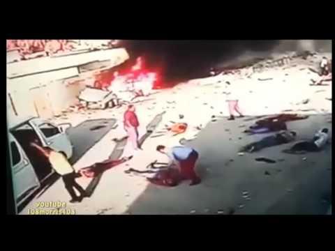 Faux attentat à la voiture piégée au Moyen Orient (2016)