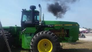 John deere 8960 test tractor