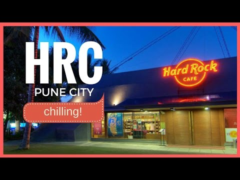 CHILLING AT HARD ROCK CAFE - PUNE
