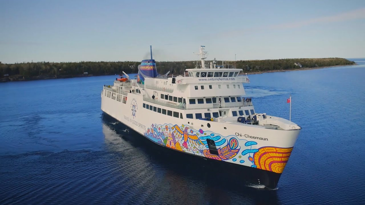 Image result for ferry tobermory to south baymouth