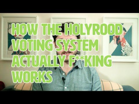 How the Holyrood Voting System Actually Works