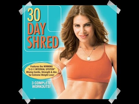 Mi rutina 30 Day Shred de Jillian Michael: nivel 2/Routine jillian michaels 30 day shred: level 2