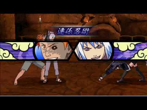 Naruto Shippuuden Accel 3 - Sasuke Vs. Team Taka