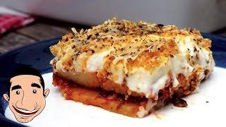MOUSSAKA RECIPE  How to Make Moussaka Like a Greek  Lamb and Eggplant Moussaka
