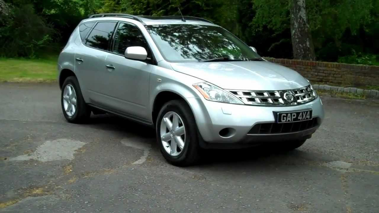 Nissan Murano 3 5 V6 Automatic 2008 08 Silver With Black