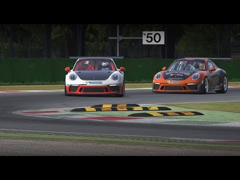 iRacing | P1 - Battling with Cameron Dance | Top Split Porsche Cup | Monza