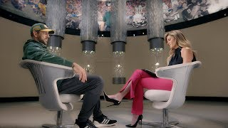Aaron Rodgers sits down with Erin Andrews