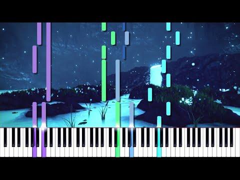 Undertale // Waterfall // Duet | LyricWulf Piano Tutorial on Synthesia OST 31