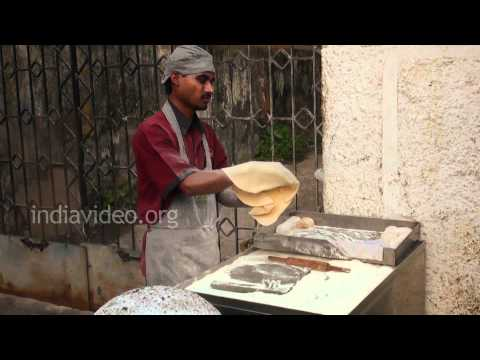 Rumali Roti Making