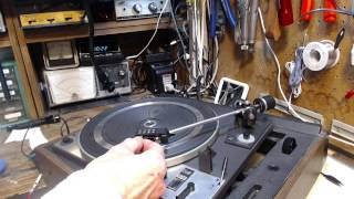 Dual 1228 Turntable Video #1 - Checkout