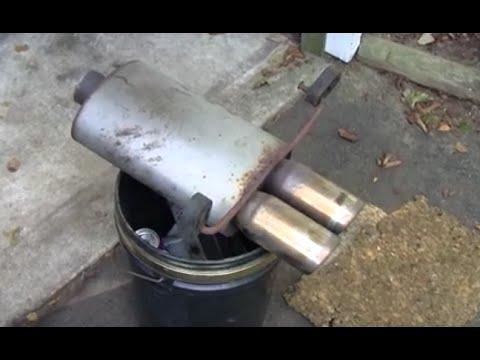 Exhaust Tubing Bender >> HOMEMADE EXHAUST BAFFLE - YouTube