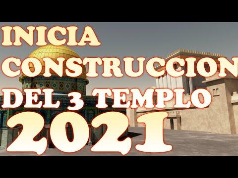 INICIA LA CONSTRUCCION DE TERCER TEMPLO JUDIO EN ISRAEL 2021