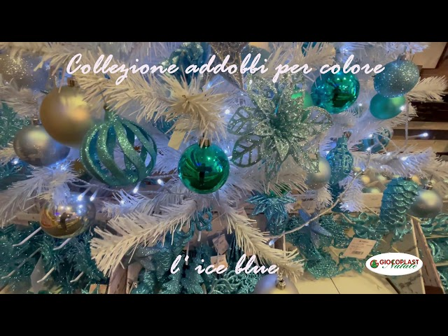 collezione Natale per colore - Ice Blue