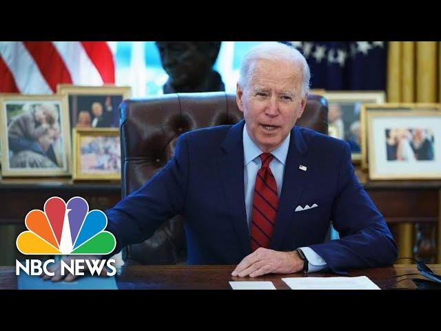 Biden Signs Executive Orders Updating Immigration System   NBC News