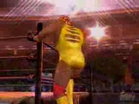 Hulk Hogan 80's Entrance - YouTube