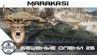 World of Tanks приколы 2015, бешеные олени, им плевать на остальных wot 25