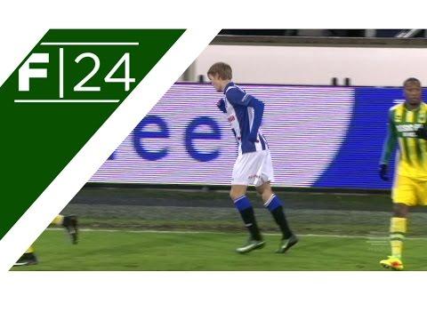 Odegaard makes Heerenveen debut