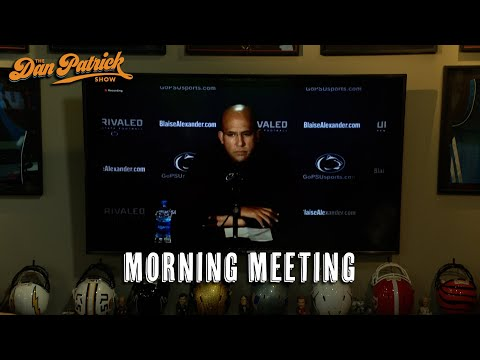 Morning Meeting: Is James Franklin Focused On His Next Opponent?   10/27/21