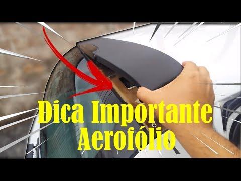 Aerofólio do Clio Dica importante
