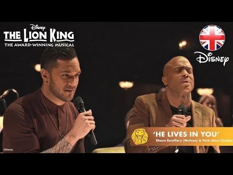 THE LION KING | He Lives In You - Nick Afoa And Shaun Escoffery | Official Disney UK