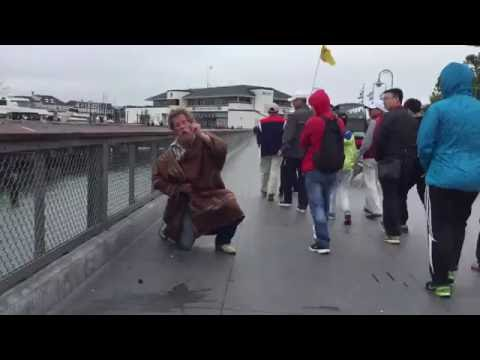 Atheist T-Shirt sets off Homeless Man in San Francisco