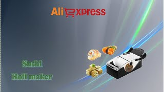 Aliexpress haul unboxing - Macchina per il sushi / sushi maker / magic onigiri roll tool