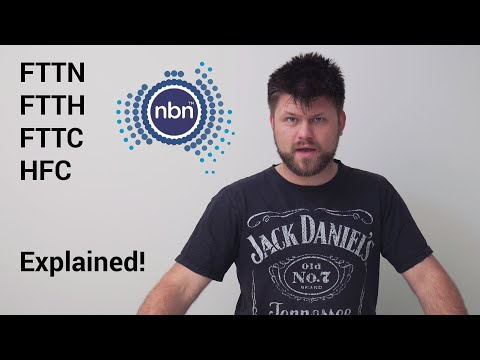 Differences between FTTH - FTTP - FTTC - FTTN & HFC under NBN CO | Tech Man Pat