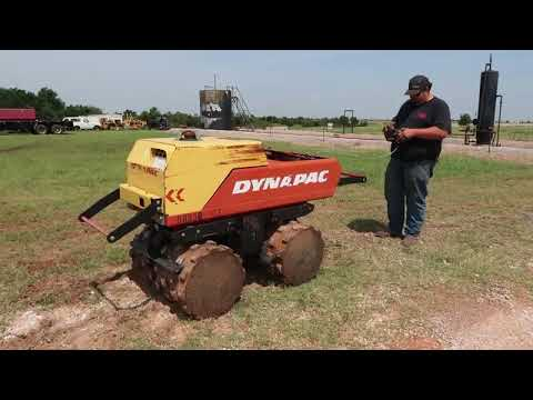 2011 Dynapac LP8504 Trench Compactor For Sale At Auction | Bidding Closes August 8, 2019