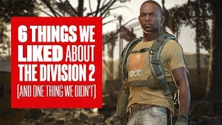 6 things we liked about The Division 2 PvP (and one thing we didn't)