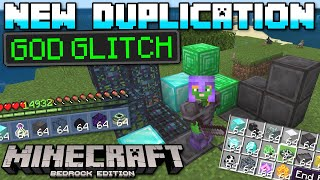 Minecraft Bedrock - NEW DUPLICATION GLITCH (Anything+Creative+More)(Tutorial) Xbox,PS4,Window,Switch